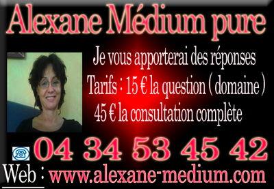 Voyant Alexane Médium Pure