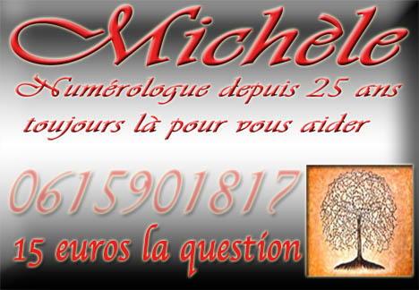 Voyant Michèle D'Antibes Numérologue